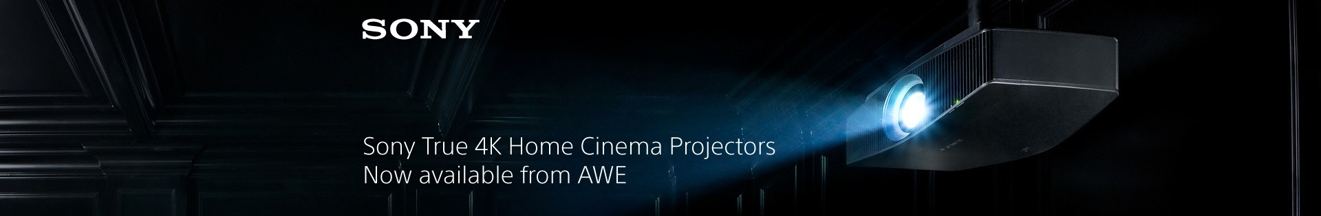 Sony Projectors Now At AWE