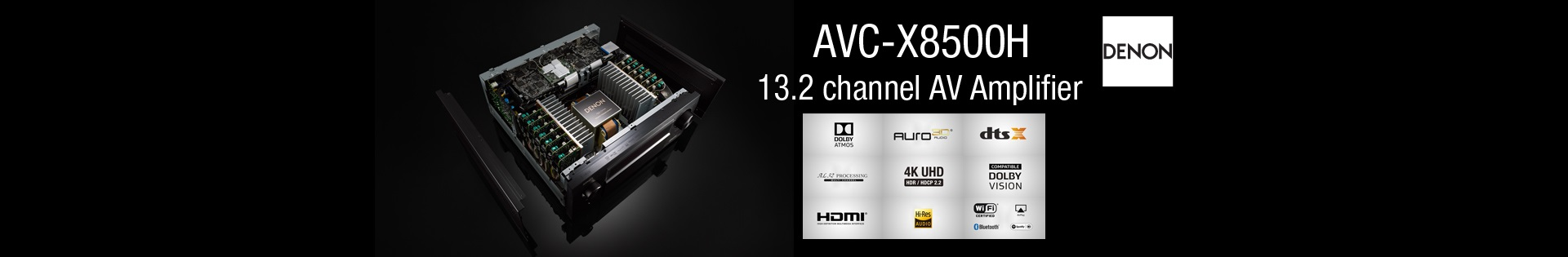 New 13.2 Channel AVR
