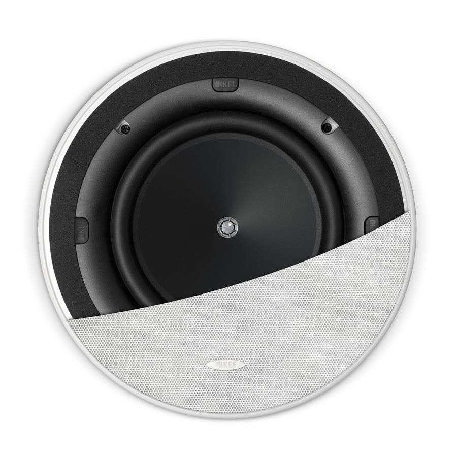 Kef Ci200 2cr 200mm Circle Speaker Small Uniq Driver Each