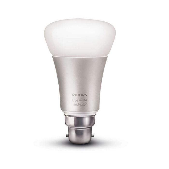 Philips Hue white and colour ambiance B22 bulb - AWE Europe 0af632f5990f