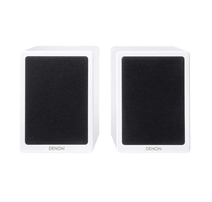 Denon SCN4 Bookshelf Speakers For DRAN4 White